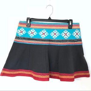 Free People Ric Rac Mini Skirt